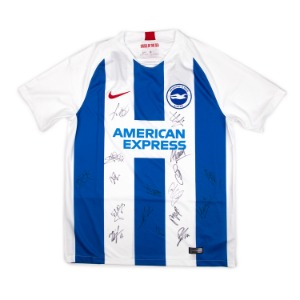 BRIGHTON 18-19 HOME SQUAD SIGNATURE JERSEY