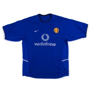 MANCHESTER UNITED 02-03 3RD JERSEY S/S #2 G.NEVILLE