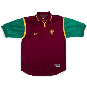 PORTUGAL 99-00 HOME JERSEY S/S