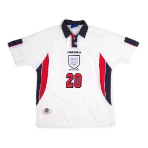 ENGLAND 97-99 HOME S/S #20 OWEN