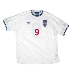 ENGLAND 99-01 HOME S/S #9 SHEARER