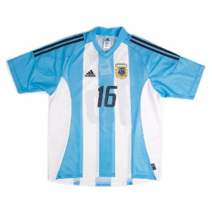 ARGENTINA 02-04 HOME S/S #16 AIMAR