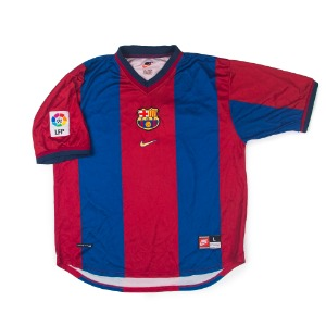 FC BARCELONA 98-00 HOME S/S #4 GUARDIOLA