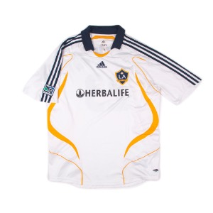 LA GALAXY 07-08 HOME S/S #23 BECKHAM