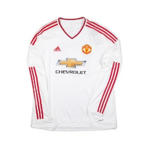 MANCHESTER UNITED 15-16 AWAY L/S #17 BLIND