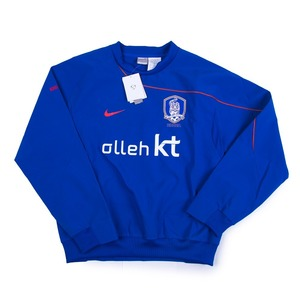 KOREA REPUBLIC 08-10 SHELL TOP L/S (BLUE)