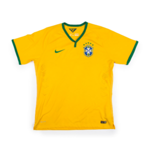 BRAZIL 14-16 HOME S/S (AUTHENTIC)