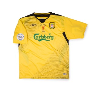 LIVERPOOL 04-05 AWAY S/S #8 GERRARD