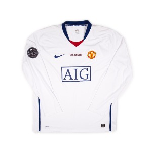 MANCHESTER UNITED 08-09 AWAY L/S #7 RONALDO (W/TAG)