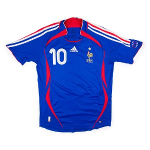 FRANCE 06-07 HOME S/S #10 ZIDANE