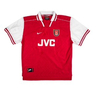 ARSENAL 96-98 HOME S/S #11 OVERMARS