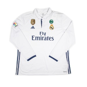 REAL MADRID 16-17 HOME L/S #4 SERGIO RAMOS