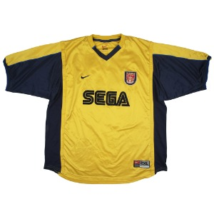 ARSENAL 99-01 AWAY S/S #10 BERGKAMP