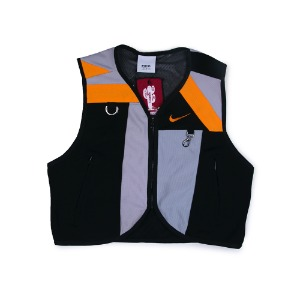 NSS sports REMADE UTILITY VEST (Black/Orange)