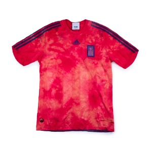 TIE DYE VINTAGE FOOTBALL TEE(GREECE)