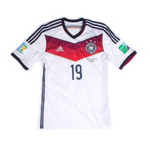 GERMANY 14/15 HOME S/S #19 GOTZE