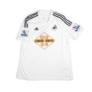 SWANSEA CITY 14/15 HOME S/S #4 KI.S.Y (adizero)