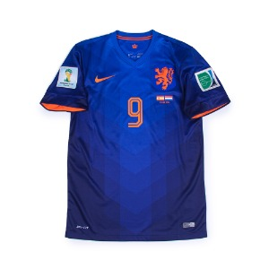 NETHERLANDS 14-15 AWAY S/S #9 V. PERSIE