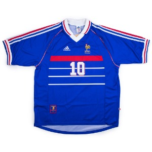 FRANCE 98-00 HOME S/S #10 ZIDANE (BNWT)