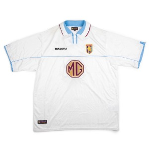 ASTON VILLA 02-03 AWAY S/S #16 CROUCH