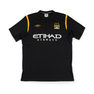 MANCHESTER CITY 09-10 AWAY S/S #33 KOMPANY