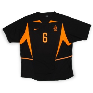 NETHERLANDS 02-04 AWAY S/S #6 COCU