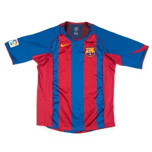 BARCELONA 04-05 HOME S/S #30 MESSI