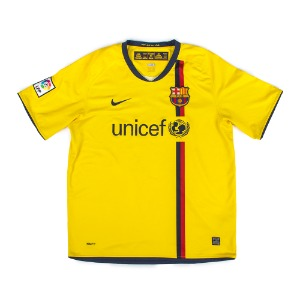 BARCELONA 08-09 AWAY S/S #10 MESSI