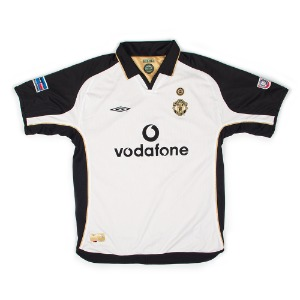 MANCHESTER UNITED 01-02 AWAY S/S #16 KEANE