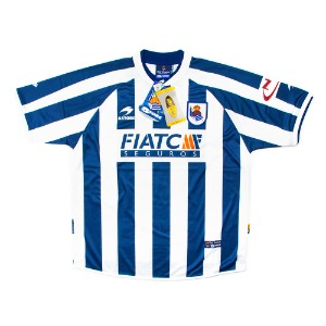 REAL SOCIEDAD 03-04 HOME S/S #19 LEE C. SOO (W/TAG)