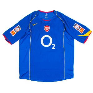ARSENAL 04-05 AWAY S/S #4 VIEIRA