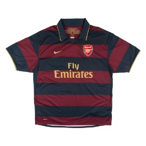 ARSENAL 2007-2008 AWAY S/S #4 FABREGAS