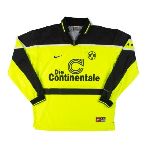 DORTMUND 1997-1998 HOME L/S NO MARKING