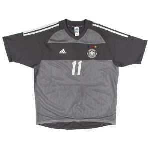GERMANY 2002-2004 AWAY S/S #11 KLOSE