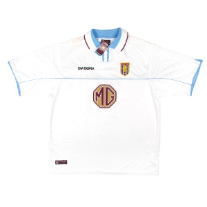 ASTON VILLA 2002-2003 AWAY S/S #16 CROUCH (W/tag)