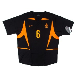 NETHERLANDS 2002-2004 AWAY S/S #6 COCU (W/tag)