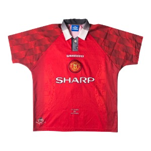 1996-1998 MANCHESTER UNITED HOME S/S #7 CANTONA
