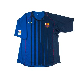 2004-2005 BARCELONA AWAY S/S #30 MESSI