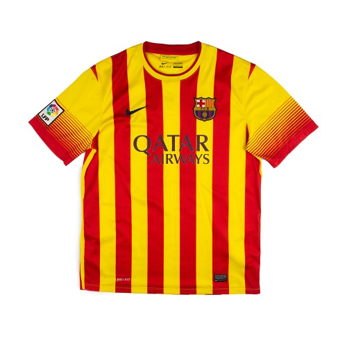 2013-2014 BARCELONA AWAY S/S  #10 MESSI