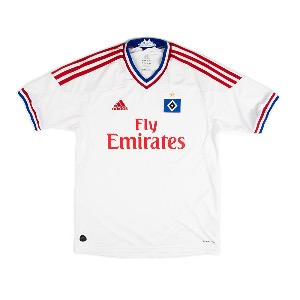 2011-2012 HAMBURGER SV HOME S/S #40 SON