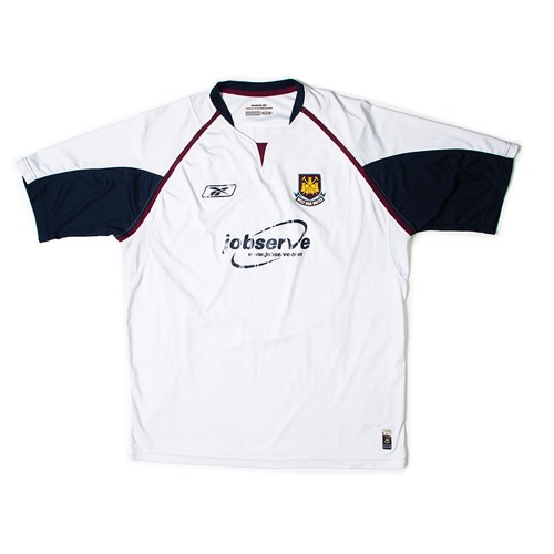 Westham 2005-2006 AWAY S/S XL #8 SHERINGHAM