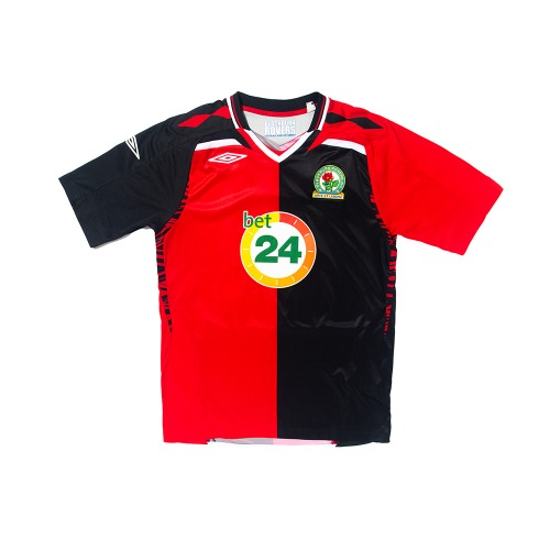 Blackburn 2007-2008 AWAY S/S S #12 GAMST