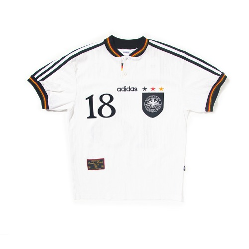 Germany 1996-1998 HOME S/S M #18 KLINSMANN