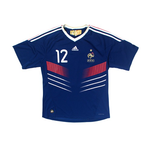 France 2009-2011 HOME S/S XL #12 HENRY