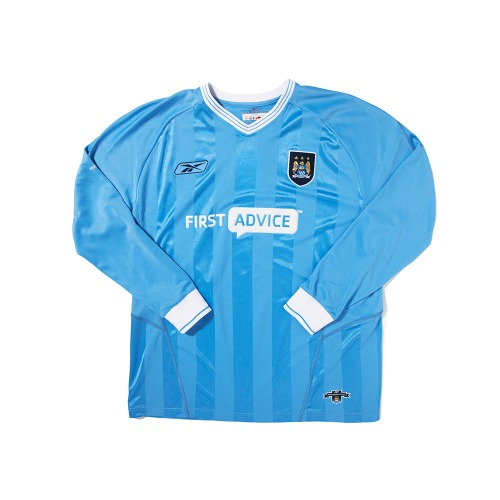 ManchesterCity 2003-2004 HOME L/S XL #39 ANELKA