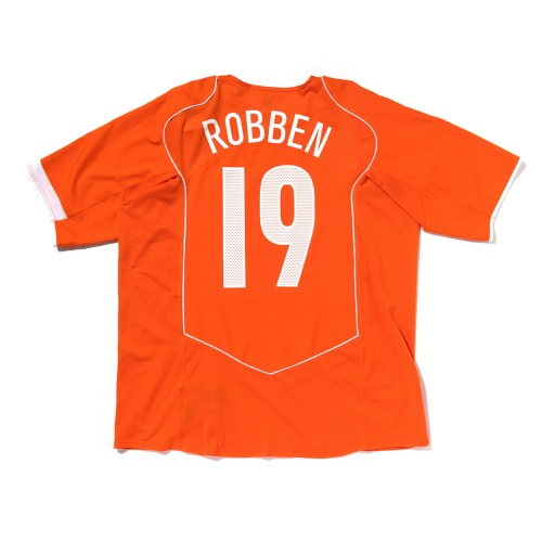 HOLLAND 2004-06 HOME S/S XL #19 ROBBEN