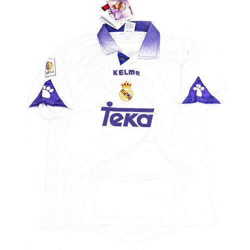 REAL MADRID 1997-1998 HOME S/S XL #3 R.CARLOS