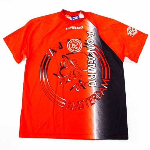 AJAX 1990S TRAINING TOP S/S XL RED