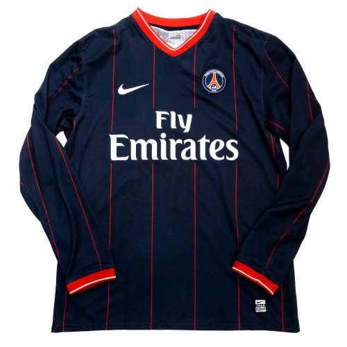 PSG 2009-2010 HOME PLAYER ISSUE  L/S L #14 KEZMAN