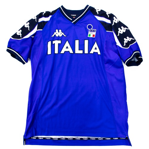 ITALY 1990S TRAINING S/S TOP XL